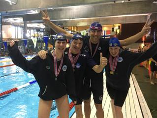 10 gull, 7 sølv og 4 norske rekorder i Master-NM
