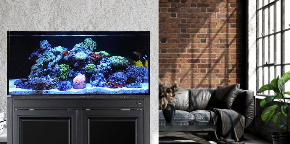 nuvo aps aquarium stand metal