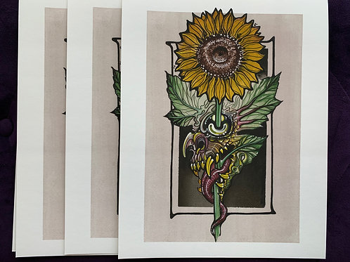 Sinflower Print