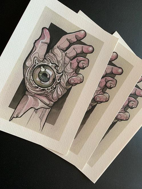 Hand Morph 1 Print