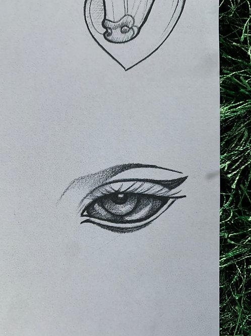 Of the Lovely Black Eyes