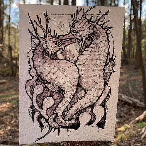 Set of 3 Art prints/Greeting Cards