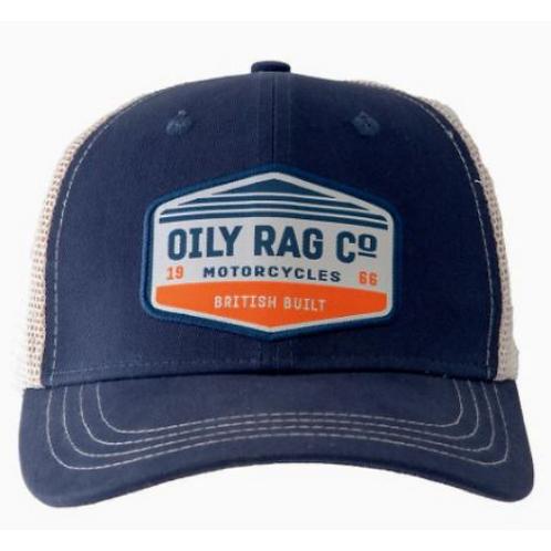Oily Rag Co Motorcycles Trucker Cap