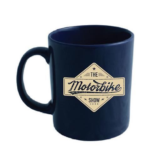 Official Motorbike Show Mug - Midnight Blue