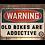 Thumbnail: Old Bikes are Addictive Alloy Sign
