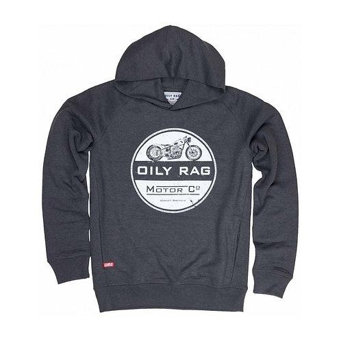 Oily Rag Black Label Motor Co Hoodie