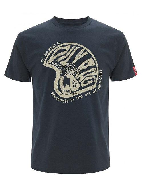 Oily Rag Bike Art T-Shirt