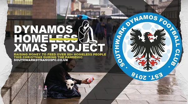 DYNAMOS HOMELESS PROJECT!