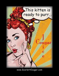 Kitten Wine Label