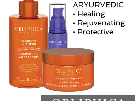 Introducing OBLIPHICA Seaberry Haircare
