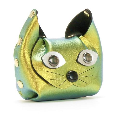 Cat Coin Purse Scarab
