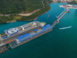 Balneário Camboriú terá primeiro porto com terminal de passageiros exclusivo
