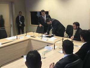Governo federal emite concessão para porto de transatlânticos em Balneário Camboriú