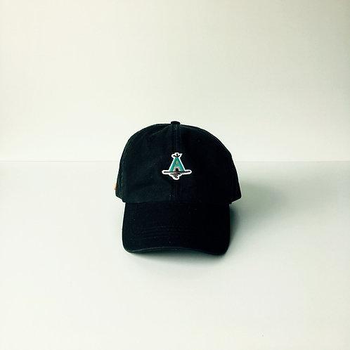 AWAcafe Basic Baseball Cap color:Black