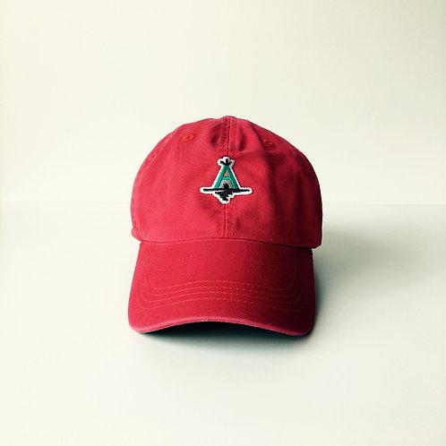 AWAcafe Basic Baseball Cap color:Red