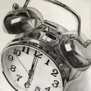 4 Patrícia Carlin - Relógio de metal - Grafite sobre papel - 21x30 cm -16-04-2018.jpg