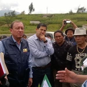 Alcalde de Otavalo cambia de estrategia y organiza audiencias itinerantes