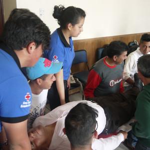 Municipio de Otavalo impulsa capacitaciones en búsqueda y rescate