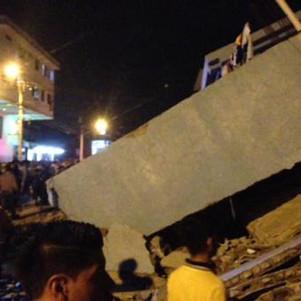 Se confirma el fallecimiento de imbabureños en terremoto