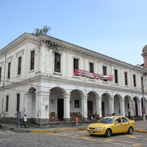 Municipio de Ibarra anuncia intervención en edificio del antiguo colegio Teodoro Gómez.