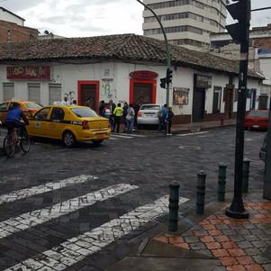 Dos accidentes de tránsito en menos de una hora en Ibarra