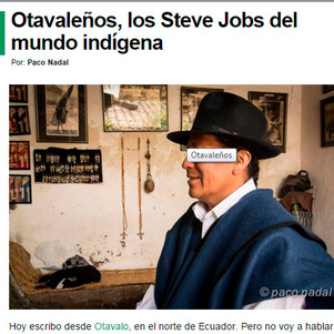 Blog de viajes compara a otavaleños con Steve Jobs