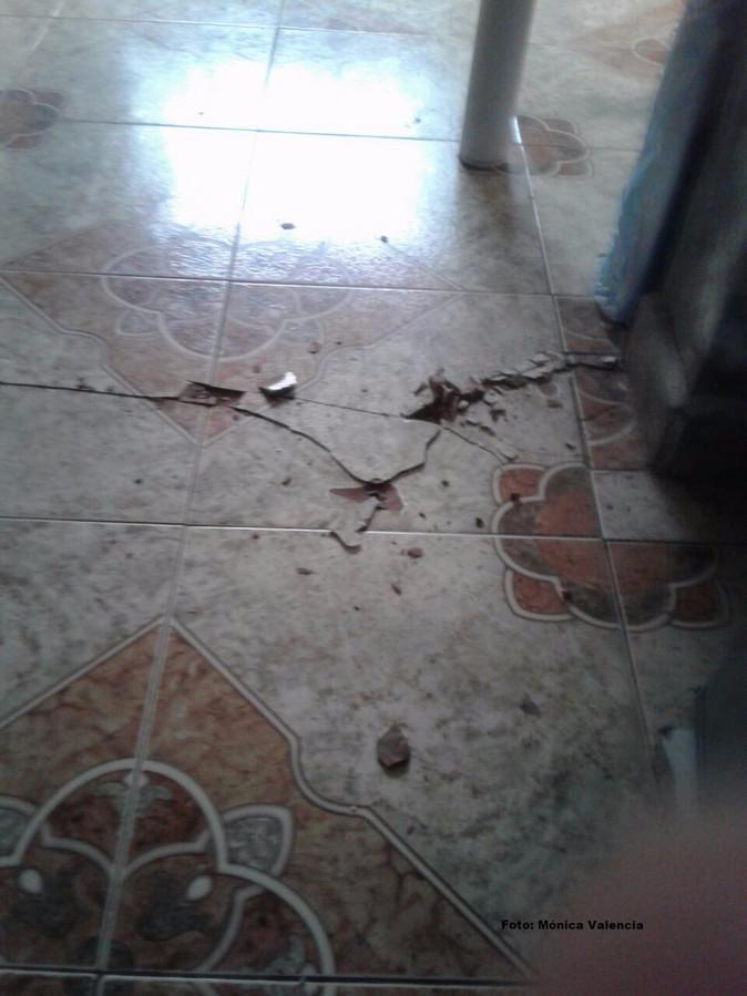 En Imbabura se registran daños estructurales en viviendas