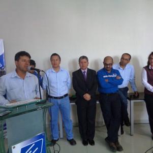 Técnicos de Emelnorte retornaron luego de restablecer el servicio eléctrico en zonas afectadas por e