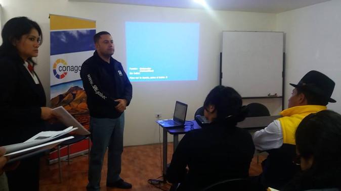 Conagopare Imbabura organizó taller para tramitar devolución de IVA a gobiernos parroquiales