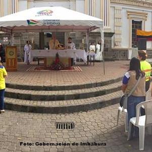 Con misa campal se conmemoró Día del Trabajo en Ibarra