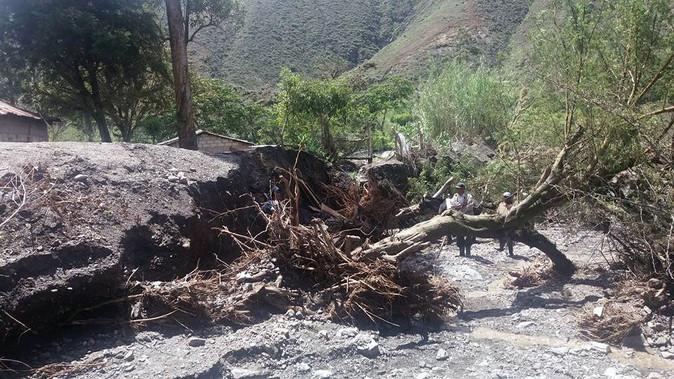 Lluvias generaron inconvenientes en Ambuquí