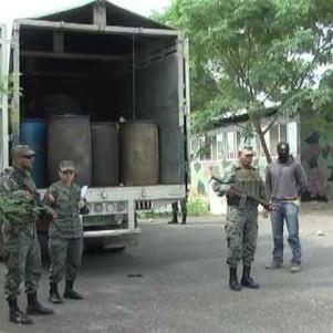Fuerzas Armadas del Ecuador propinan nuevo golpe al contrabando de combustible