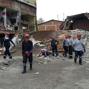 Bomberos otavaleños recibirán reconocimiento por su trabajo en zonas afectadas por el terremoto
