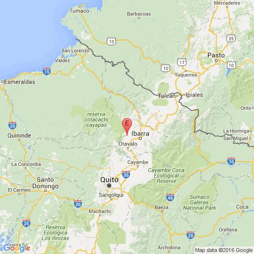 Temblor de 2.5 se registró en Imbabura