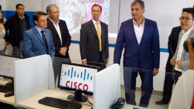 Presidente Rafael Correa inauguró instituto tecnológico 17 de Julio en Yachay (video)