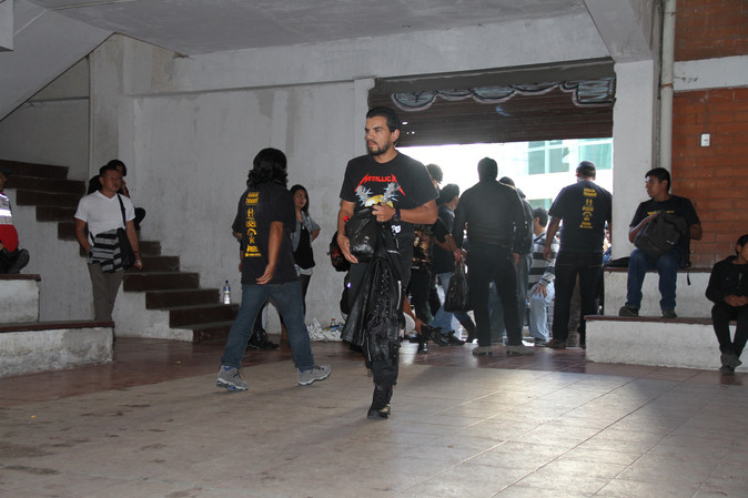 Movimiento rockero de Imbabura convocó la solidaridad de la población a favor de los damnificados po