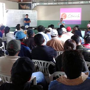 Comunidades de Intag resuelven acciones para garantizar agua, biodiversidad y en contra de la minerí