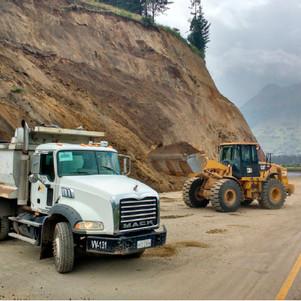 URGENTE: Parte de la vía Otavalo - Cajas permanece cerrada