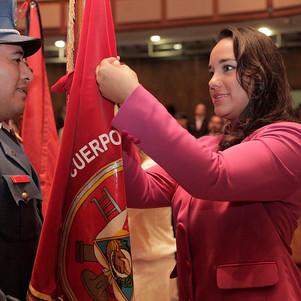 Bomberos de Ibarra y Otavalo recibieron reconocimiento por parte de la Asamblea Nacional