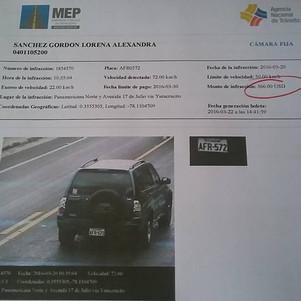 Polémica por operación de fotorradares en Ibarra