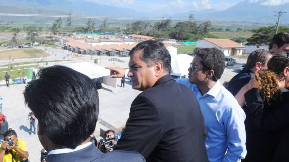 Presidente Rafael Correa visita Imbabura este martes