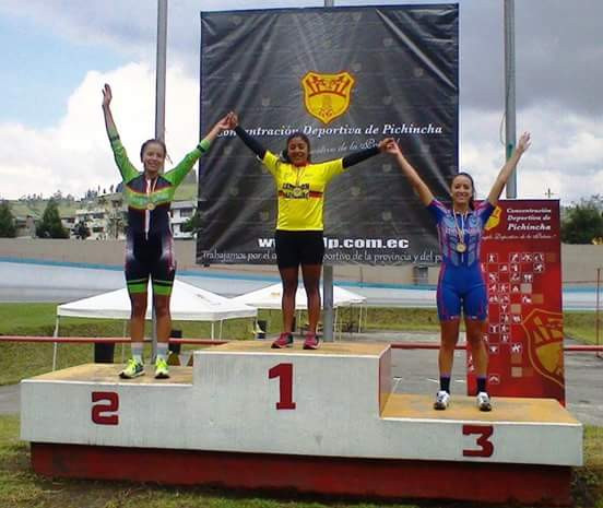 Imbabura alcanza medalla en torneo nacional de ciclismo