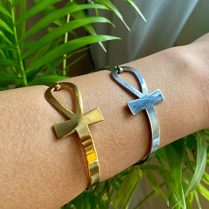 Kemetic Ankh Bangle