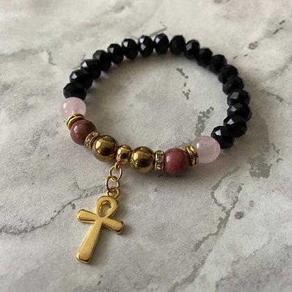 Love & Grounding Ankh Bracelet
