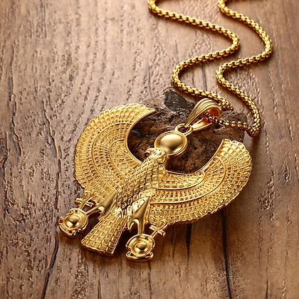 Oversize Heru (Horus) Necklace