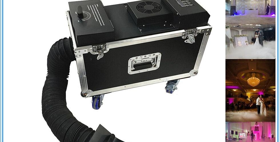 1pc New Small 1500W Water Fog Machine DMX Remote Control Smoke Haze Low Lying Fo