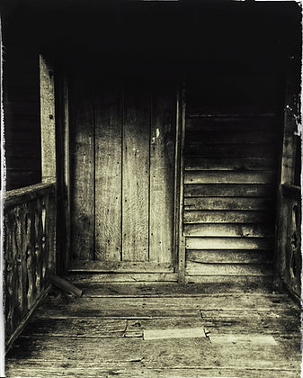 Doorway to the old wardens hut