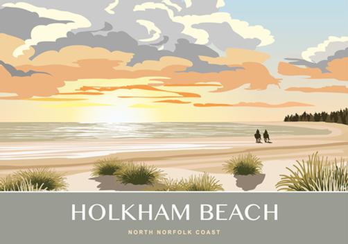 Holkham Beach (Riders)