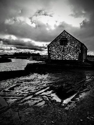 The old coal barn Thornham