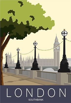London Southbank Big Ben